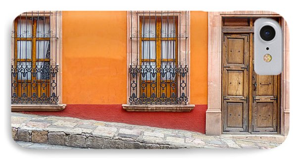 Two Windows And A Door IPhone Case by Douglas J Fisher