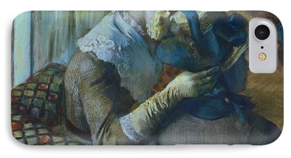 Two Women IPhone Case by Edgar Degas