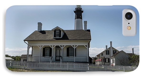 IPhone Case featuring the photograph Tybee Island Lighthouse by Kim Hojnacki