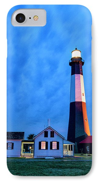 IPhone Case featuring the photograph Tybee Island Lighthouse by Phyllis Peterson