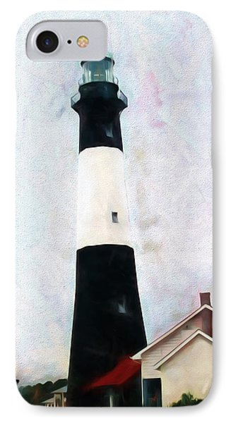 Tybee Lighthouse - Coastal IPhone Case by Barry Jones