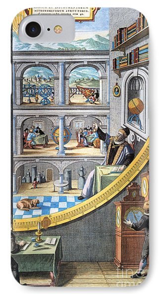 Tycho Brahe (1546-1601) Phone Case by Granger