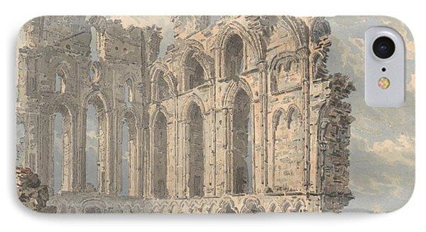 Tynemouth Priory, Northumberland IPhone Case by Thomas Girtin