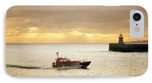 Tynemouth IPhone Case by Nichola Denny