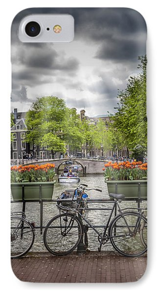 Typical Amsterdam IPhone Case by Melanie Viola