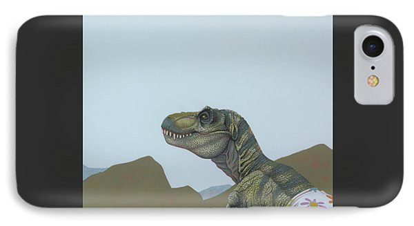 Tyranosaurus Rex IPhone 7 Case by Jasper Oostland