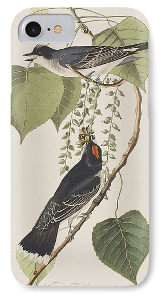 Tyrant Fly Catcher IPhone 7 Case by John James Audubon