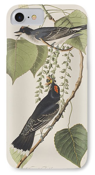 Tyrant Fly Catcher IPhone Case by John James Audubon