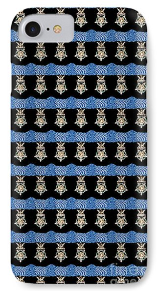 U S Army Congressional Medal Of Honor Phone Case by David Bearden