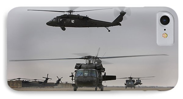 Uh-60 Black Hawks Taxis IPhone Case