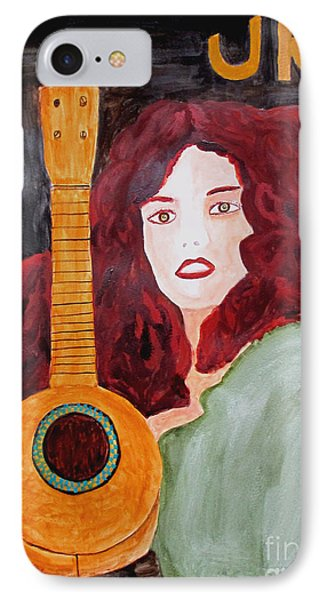 IPhone Case featuring the painting Uke by Sandy McIntire