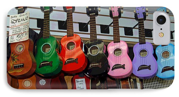 Ukeleles For Sale Phone Case by Suzanne Gaff