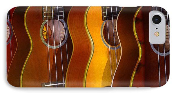 IPhone Case featuring the photograph Ukes by Jim Mathis
