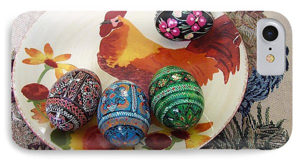 Ukrainian Pysanka IPhone Case by Jim Sauchyn