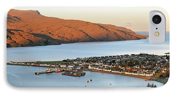 IPhone Case featuring the photograph Ullapool Morning Light by Grant Glendinning