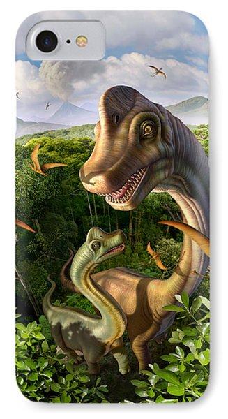 Ultrasaurus Phone Case by Jerry LoFaro