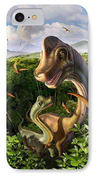 Ultrasaurus IPhone Case