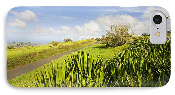 Ulupalakua Country Road Phone Case by Ron Dahlquist - Printscapes