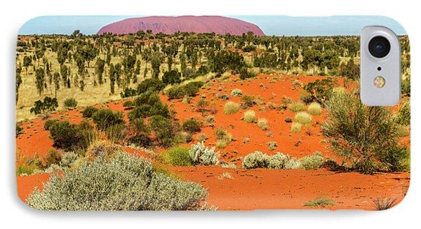 IPhone Case featuring the photograph Uluru 01 by Werner Padarin