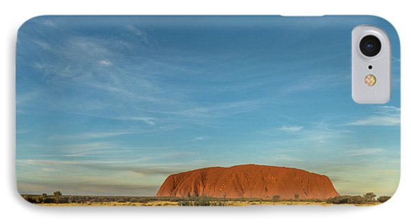 IPhone Case featuring the photograph Uluru Sunset 01 by Werner Padarin