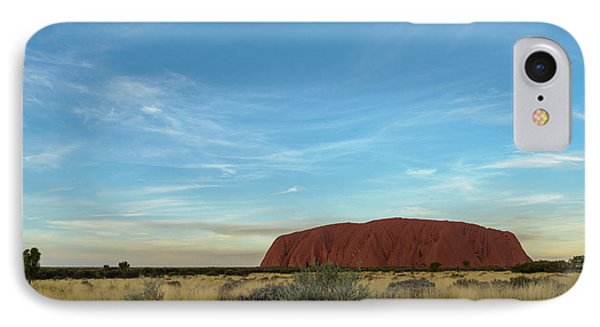 IPhone Case featuring the photograph Uluru Sunset 02 by Werner Padarin