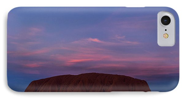 IPhone Case featuring the photograph Uluru Sunset 04 by Werner Padarin