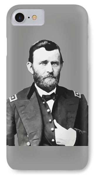 Ulysses S Grant Phone Case by War Is Hell Store