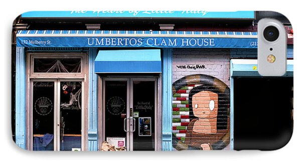 Umbertos Clam House IPhone Case by John Rizzuto