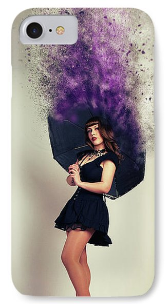 Umbrella IPhone Case by Nichola Denny