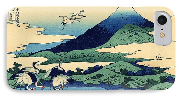 Umegawa In Sagami Province, One Of Thirty Six Views Of Mount Fuji IPhone Case by Hokusai