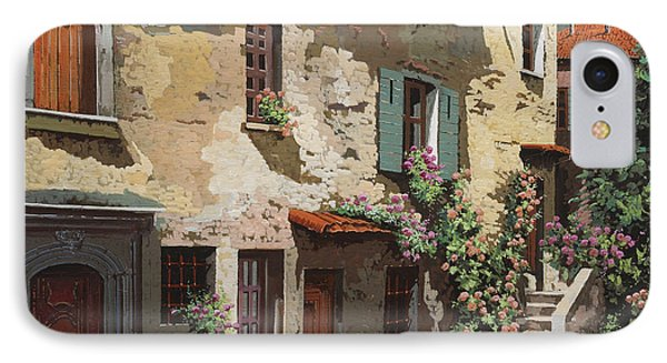 Un Cielo Improbabile IPhone Case by Guido Borelli