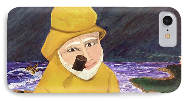 IPhone Case featuring the painting Uncle Bunk by Thomas Blood