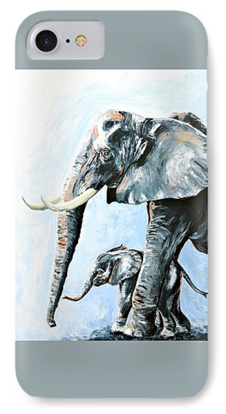 Unconditional IPhone Case by Alana Clumeck