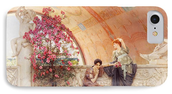 Unconscious Rivals Phone Case by Sir Lawrence Alma Tadema