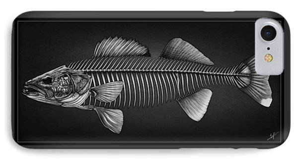 Undead Walleye IPhone Case by Nick Laferriere