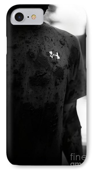 Under Armour Black And White Phone Case by Scott Sawyer