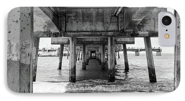 Under Belmont Veterans Memorial Pier IPhone Case