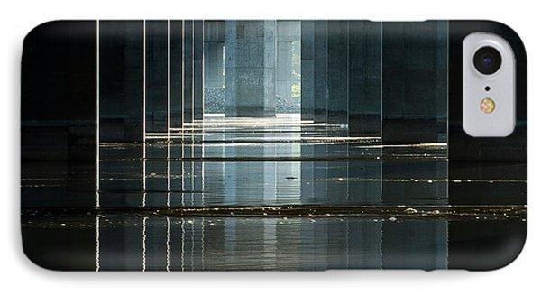 Under Clark Bridge Phone Case by Jae Mishra