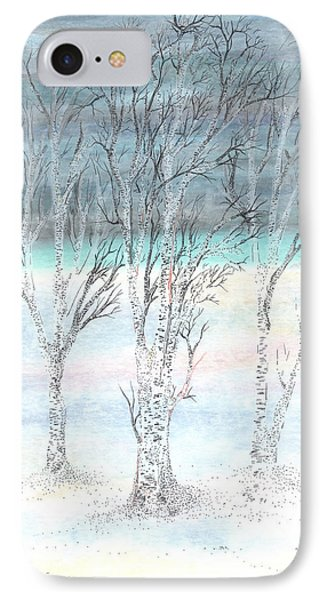 Under Northern Skies IPhone Case by Regina Valluzzi