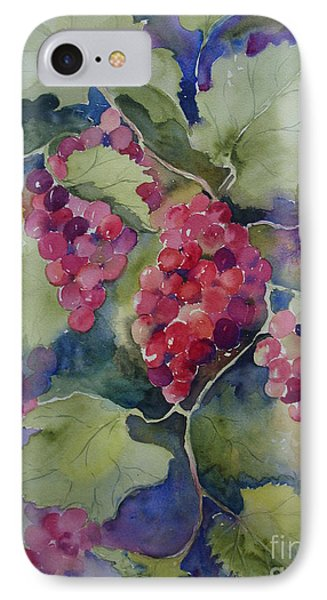 IPhone Case featuring the painting Under The Arbor by Sandra Strohschein