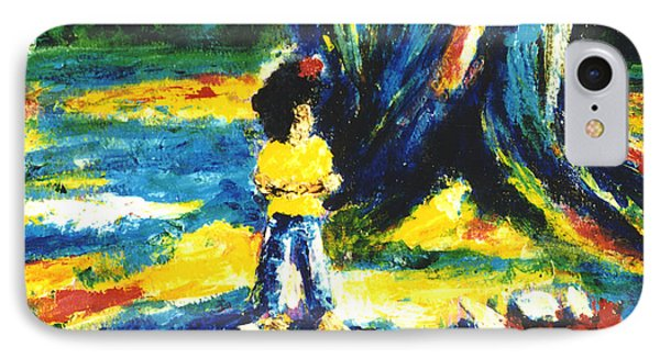 Under The Banyan Tree#201 Phone Case by Donald k Hall