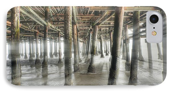 IPhone Case featuring the photograph Under The Boardwalk Into The Light by David Zanzinger