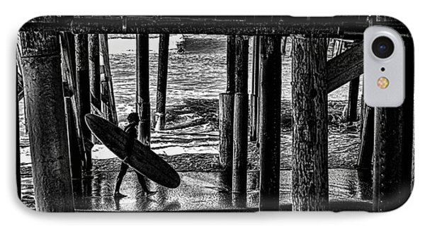 Under The Boardwalk Phone Case by Tommy Anderson