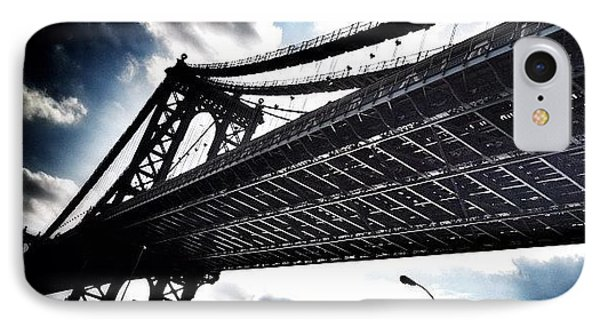 Under The Bridge IPhone 7 Case by Christopher Leon
