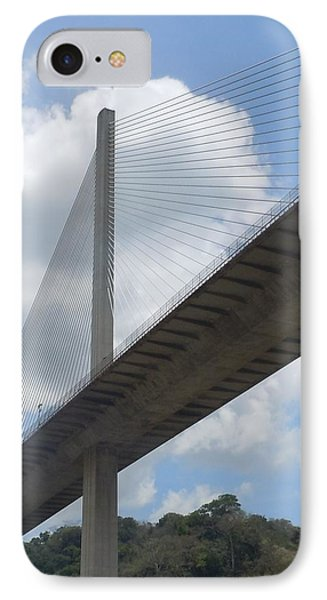 Under The Bridge Through Panama IPhone Case by Karen J Shine
