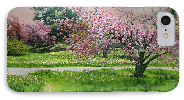 IPhone Case featuring the photograph Under The Cherry Tree by Diana Angstadt