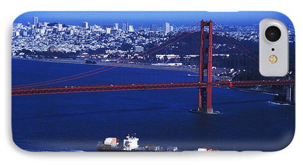 Under The Golden Gate IPhone Case by Carl Purcell
