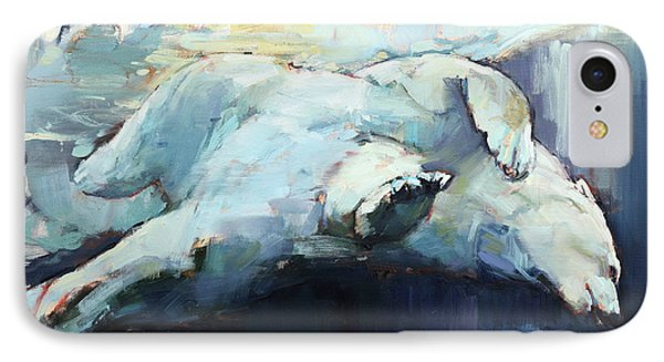 Under The Ice IPhone Case by Mark Adlington