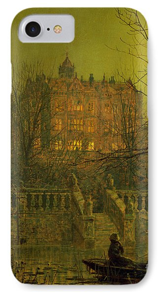 Under The Moonbeams, 1882 IPhone Case by John Atkinson Grimshaw
