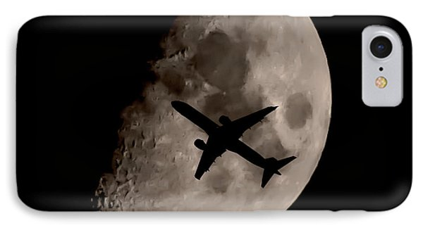 Under The Moons Shadow IPhone Case by Martin Newman